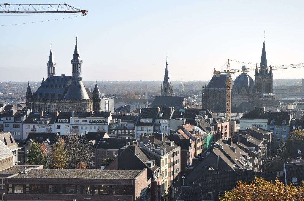 Aachen City Hall and Aachen Cathedral